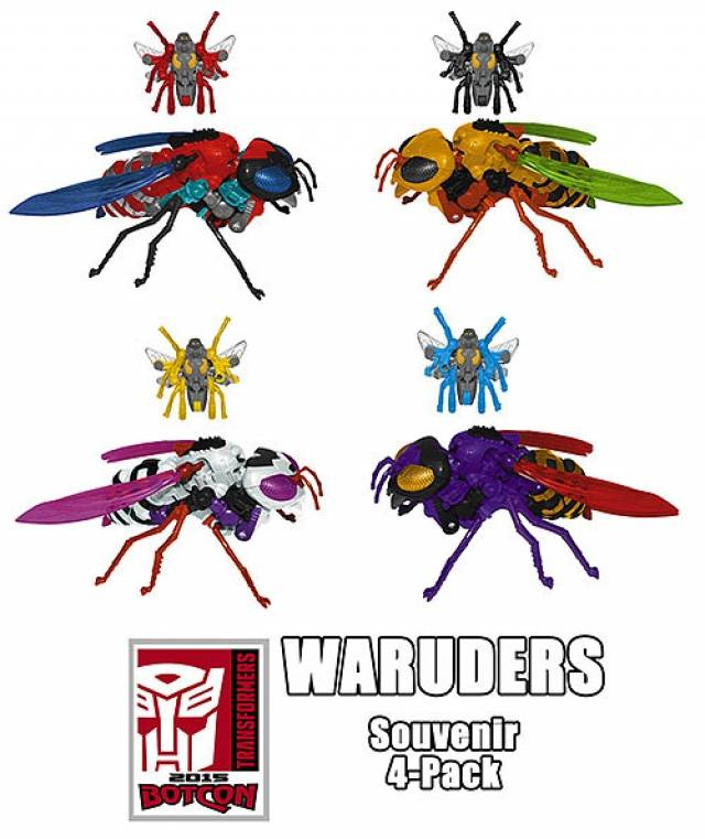 Botcon 2015 Exclusive Souvenir Set 3 - War Riders - 4-pack