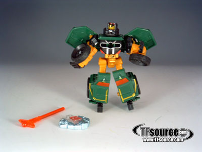 Cybertron - Overhaul - Loose - 100% Complete w/ Jungle Cyber Key