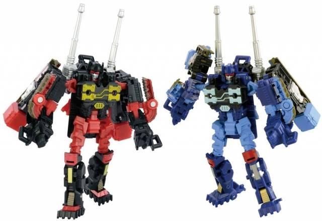 Transformers Adventure - TAV32 - Rumble & Frenzy - MISB
