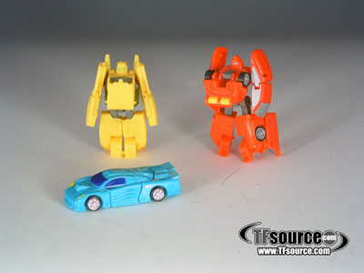 Cybertron - Street Speed Team - Loose - 100% Complete