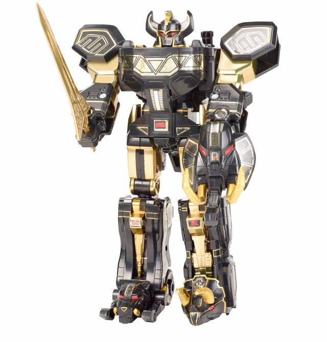 SDCC 2015 Exclusive - Power Rangers - Limited Black Edition Legacy Megazord