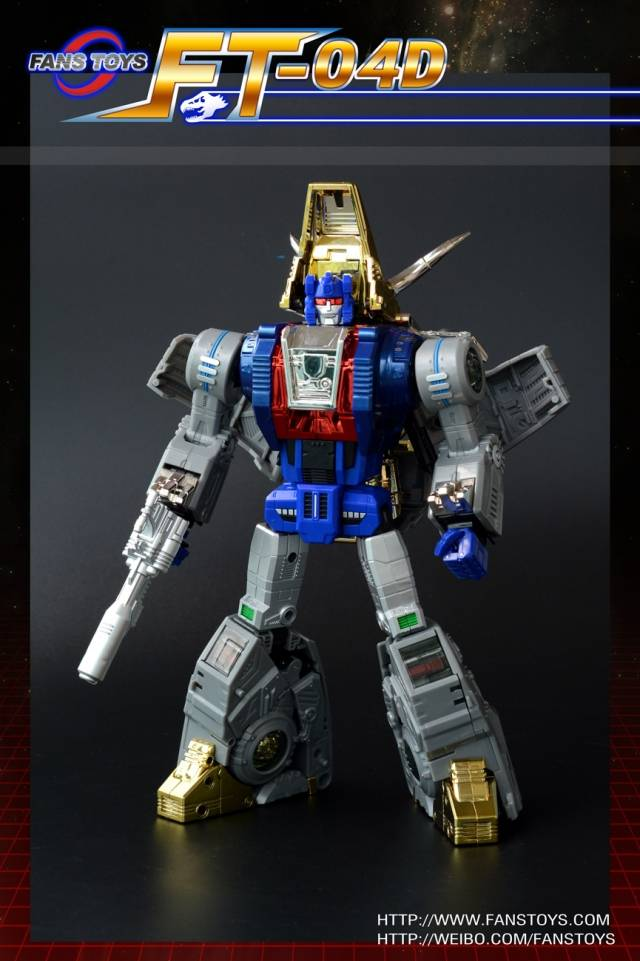 FansToys FT-04D - Iron Dibots No.1 - Scoria - Blue Limited Edition 500