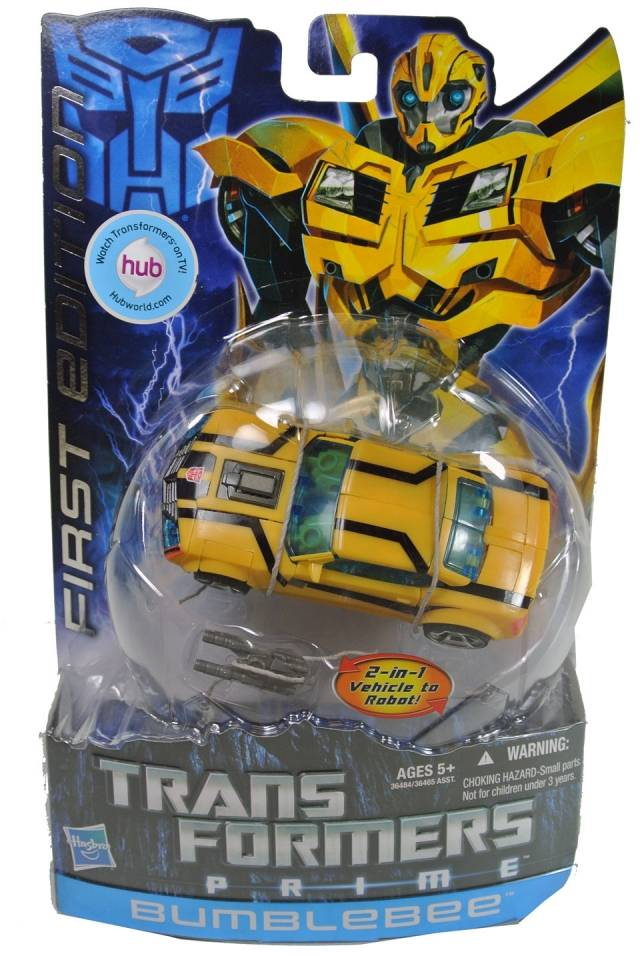 Transformers Prime - First Edition Bumblebee - MOSC