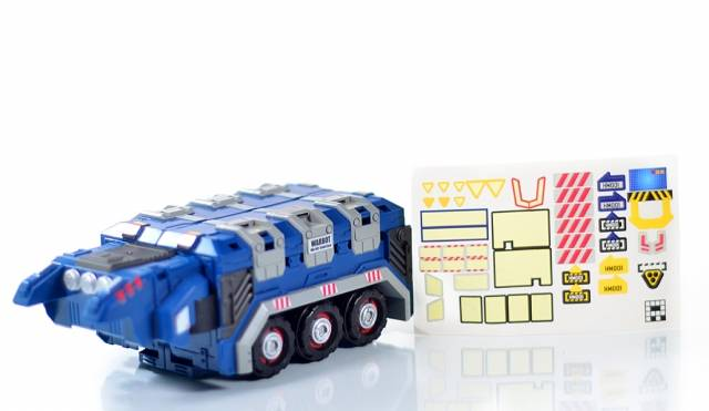 Warbot - WB002EX - Fansproject Steel Core Exclusive - Trailer