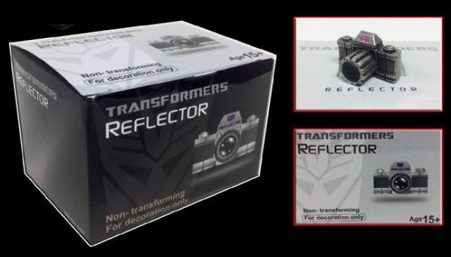 MP-05G Masterpiece Megatron - Reflector Camera Add-on