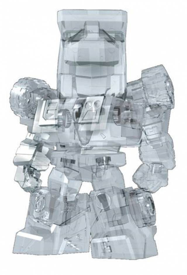 Kids logic - MN-08 Mecha Nations - 3'' Clear Devastator