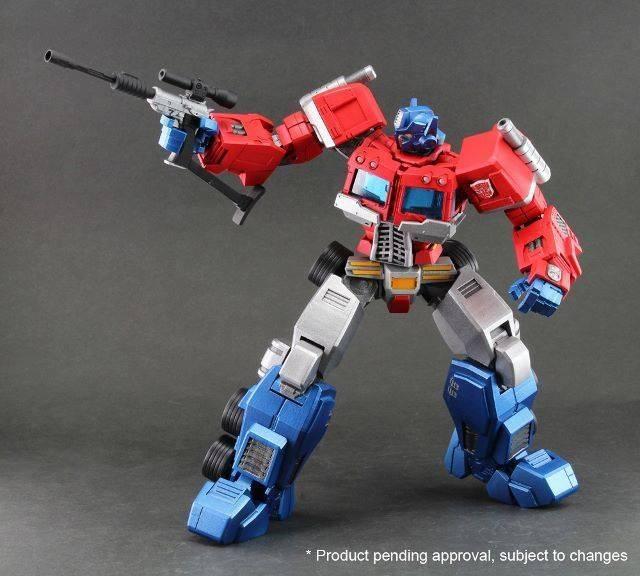 Ori Toy - Hero of Steel 01 - Optimus Prime - w/ Bonus Megatron Gun