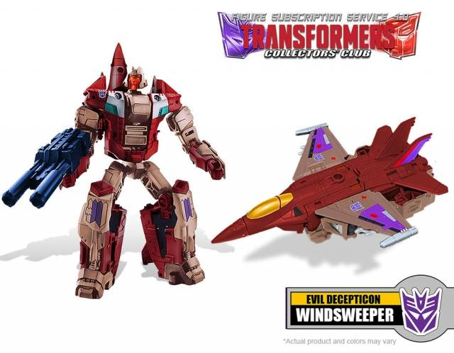 Transformers Subscription 4.0 - Windsweeper