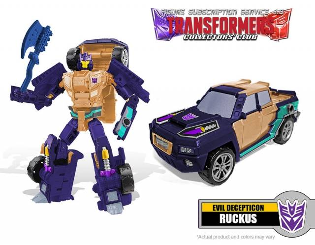 Transformers Subscription 4.0 - Ruckus
