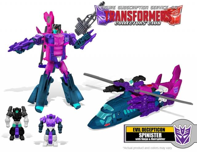 Transformers Subscription 4.0 - Spinister