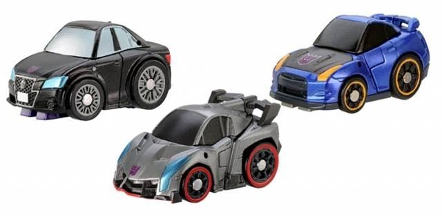Transformers Q - QTFS02 - Decepticon Set of 3 Figures