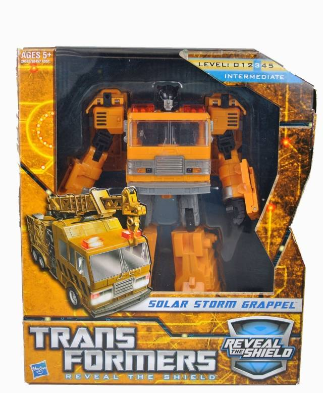 Transformers 2011 - Voyager Series - Solar Storm Grapple - MIB