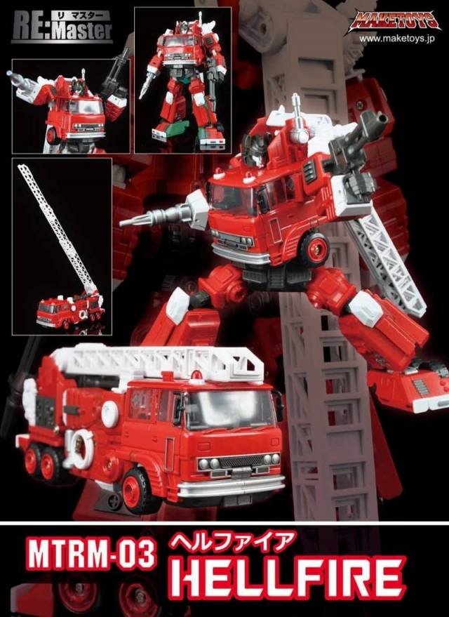 Make Toys - RM-03 Hellfire