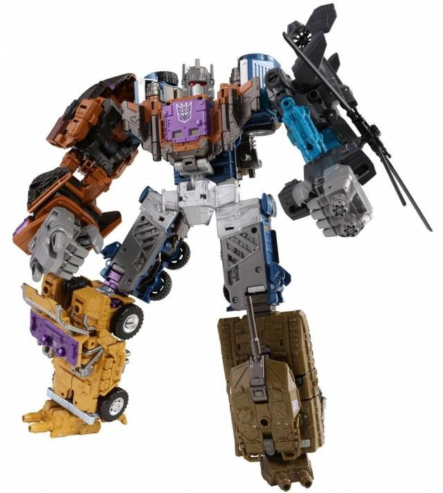 Transformers Unite Warriors - UW-07 - Bruticus w/ Blast-off Shuttle