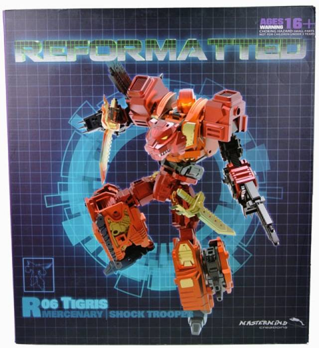 Reformatted - R-06 - Tigris the Shock Trooper - MISB