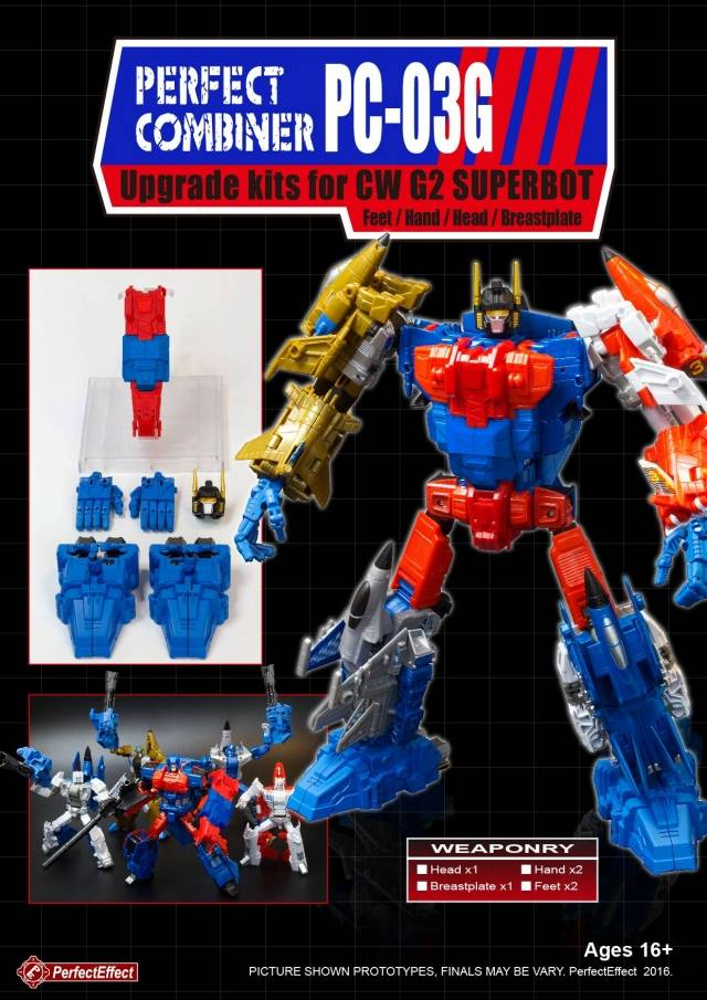 PC-03G Perfect Combiner Upgrade Kit for CW G2 Superion - MIB