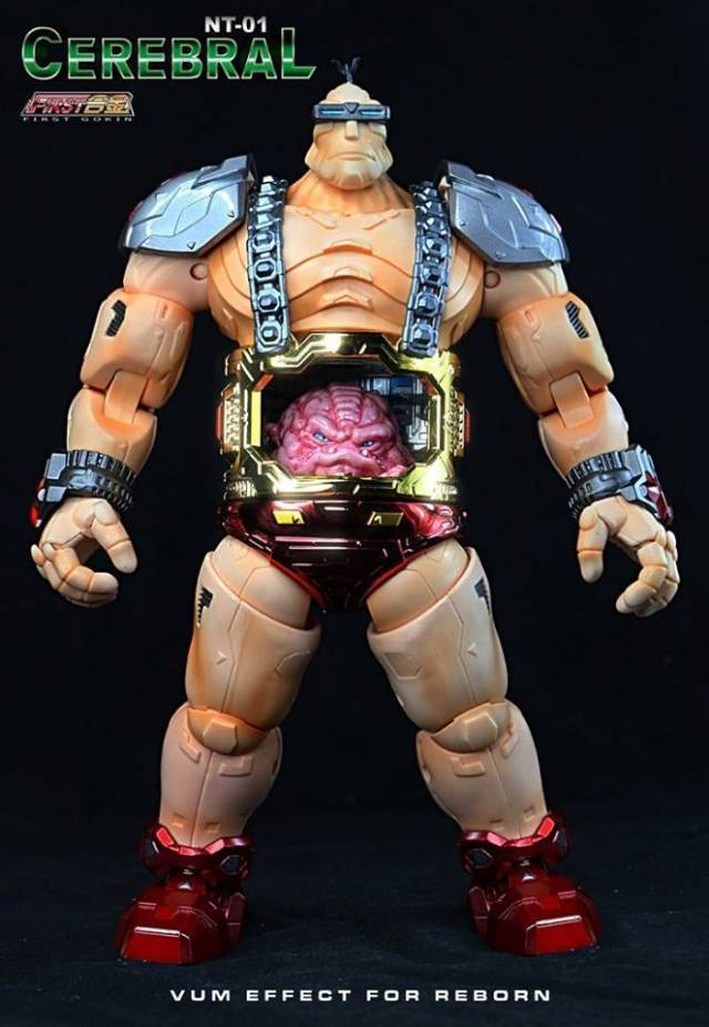 First Gokin - NT01-S Cerebral (Krang)