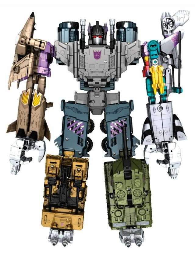 Combiner Wars 2016 - Bruticus Set of 5 Figures