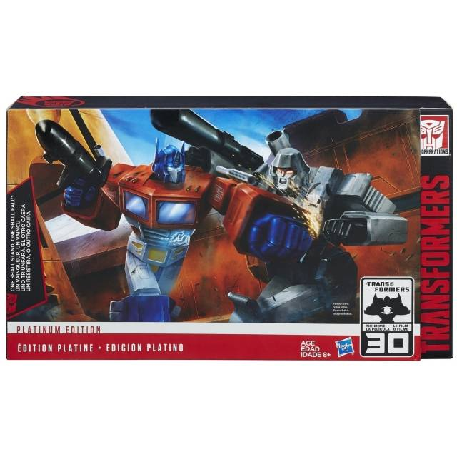 Platinum Edition - Optimus Prime vs. Megatron Classics Set