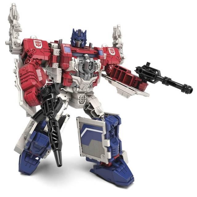 Titans Return 2016 - Leader Class - Powermaster Optimus Prime
