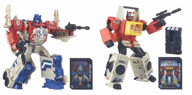 Titans Return 2016 - Leader Class Powermaster Optimus Prime & Blaster