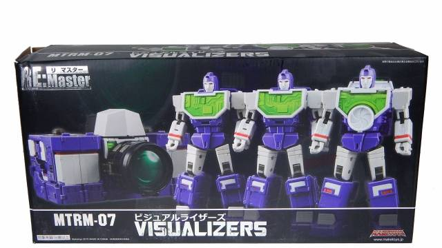 Make Toys - RM-07 Visualizers - MIB