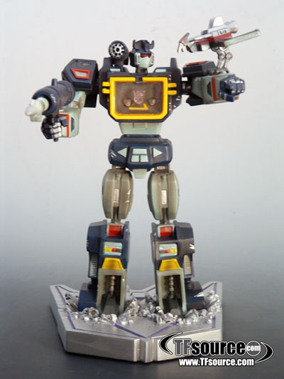 Transformers Palisades Statue - Soundwave & Laserbeak Limited Edition