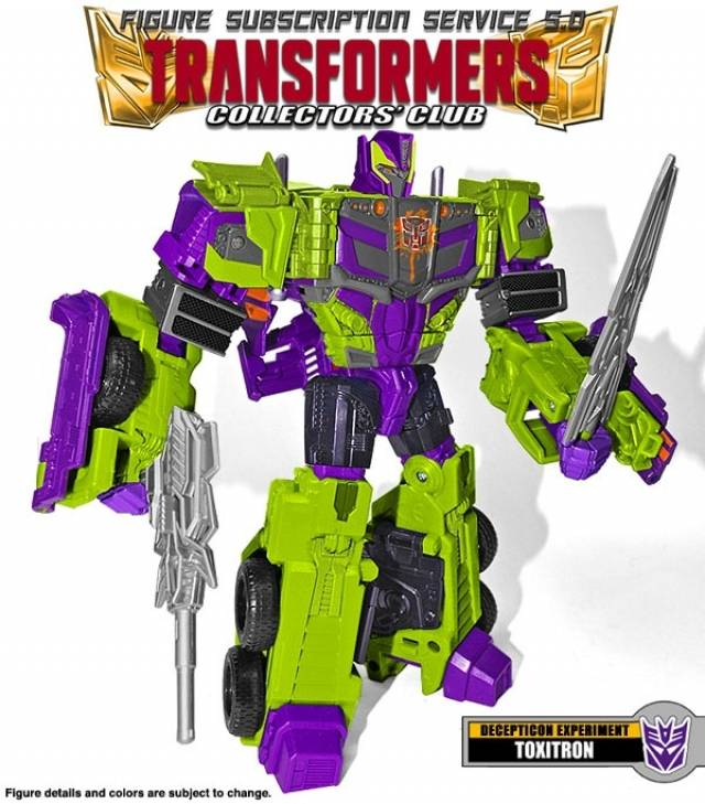 Transformers Subscription 5.0 - Toxitron