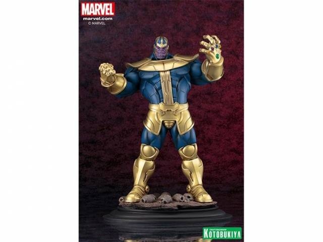 Kotobukiya - Marvel Universe - Thanos Fine Art Statue