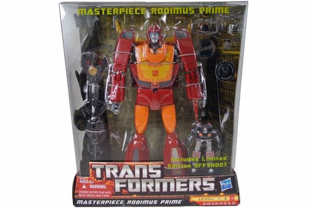 Transformers Masterpiece Rodimus Prime - Toys R Us Exclusive - MISB