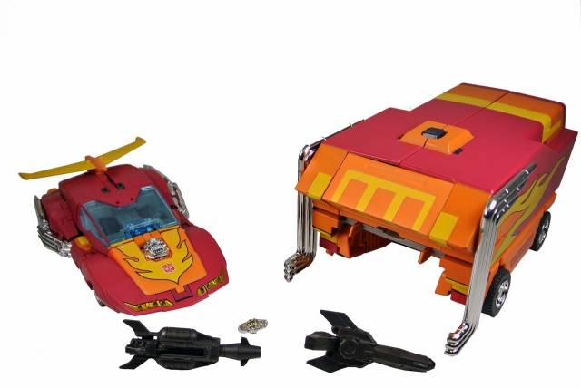 MP-09 Masterpiece Rodimus Prime - 2nd Edition - Loose - 100% Complete