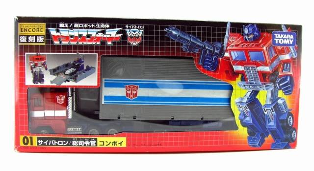 Encore #01 Optimus Prime / Convoy - MIB