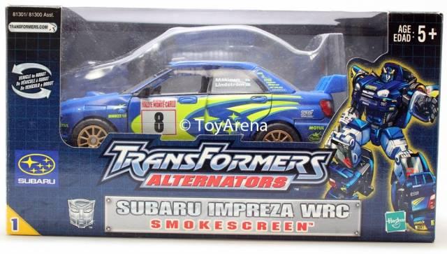 Alternators - Smokescreen - Subaru Impreza WRC - MISB
