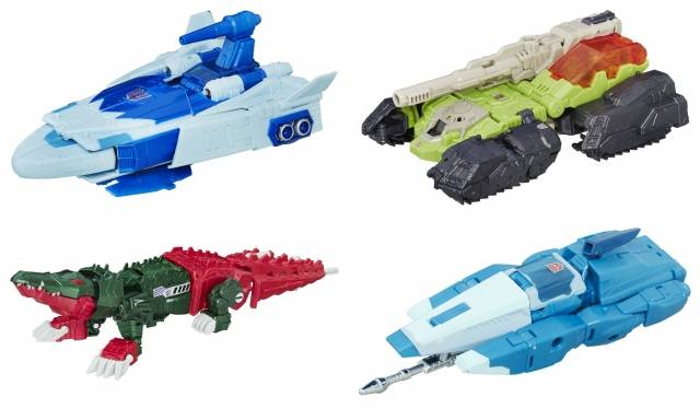 Titans Return 2016 - Deluxe Wave 1 - Set of 4