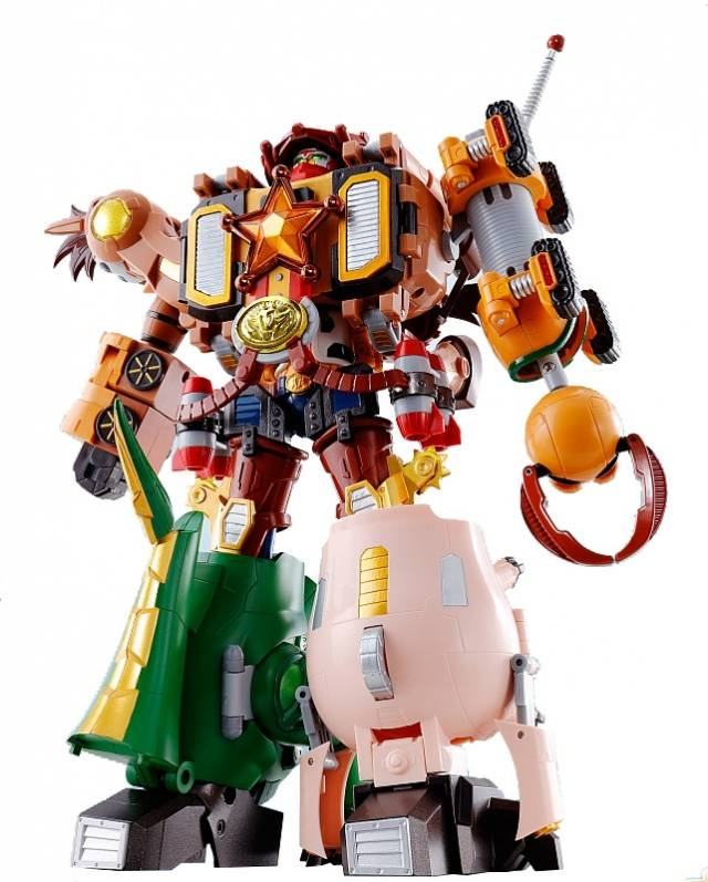 Toy Story - Chogokin - Combination - Woody - Robo Sheriff Star