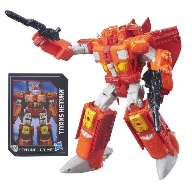 Titans Return 2016 - Voyager Class Series 1 - Sentinel Prime