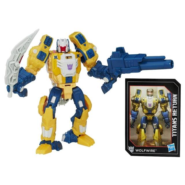 Titans Return 2016 - Deluxe Wave 2 - Wolfwire