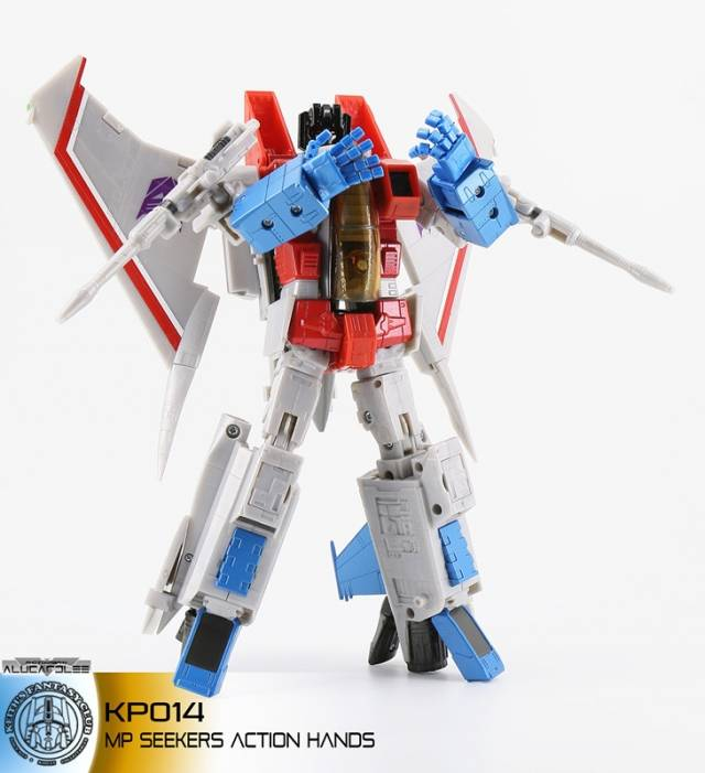 KFC - KP-14S Posable Hands for MP-11 starscream