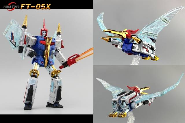FansToys FT-05X - Iron Dibots No.2 - Soar - Blue Comic LE1000