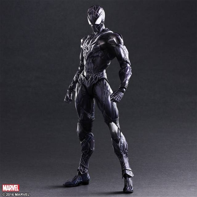 Play Arts Kai - Marvel Universe - Spider-man - Limited Color Edition