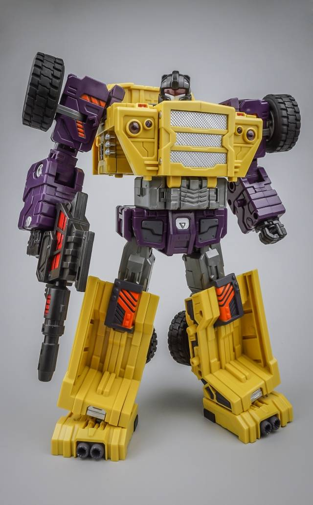 ToyWorld -  Constructor - TW-C03B Burden - Yellow Version