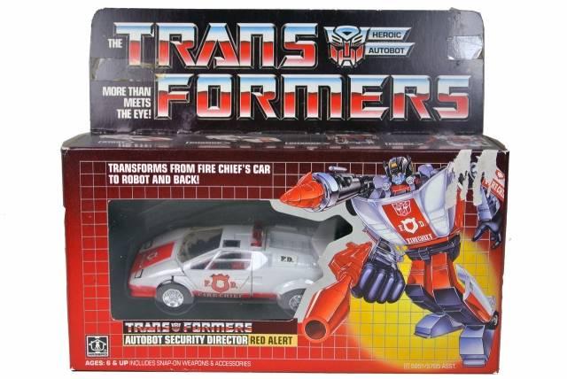 Transformers G1 - Red Alert - MISB