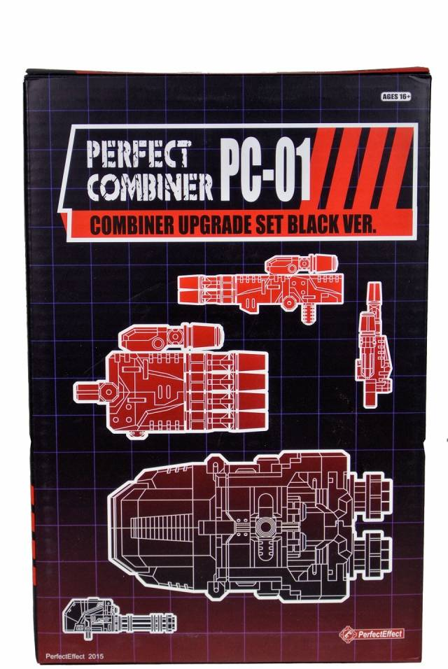 Perfect Effect - PC-01 Perfect Combiner Upgrade Set - Black Version - MIB