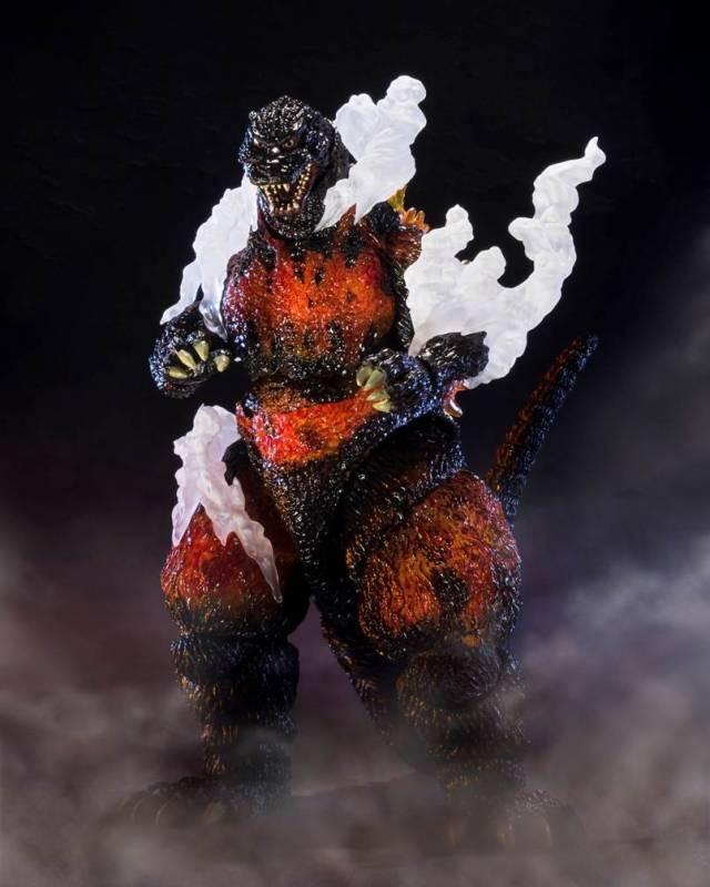 S.H. MonsterArts - Godzilla 1995 Ultimate Burning Version