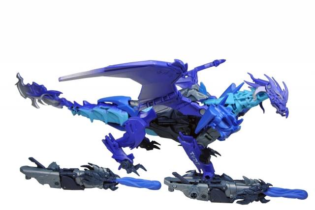 Transformers Prime - Beast Hunters - Cryo Fire Predaking - Loose - 100% Complete