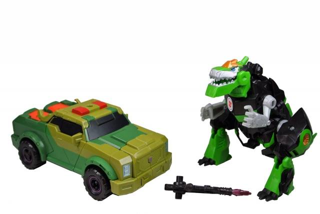 Transformers Adventure - TAVVS02 - Grimlock vs. Rollbar - Loose - 100% Complete