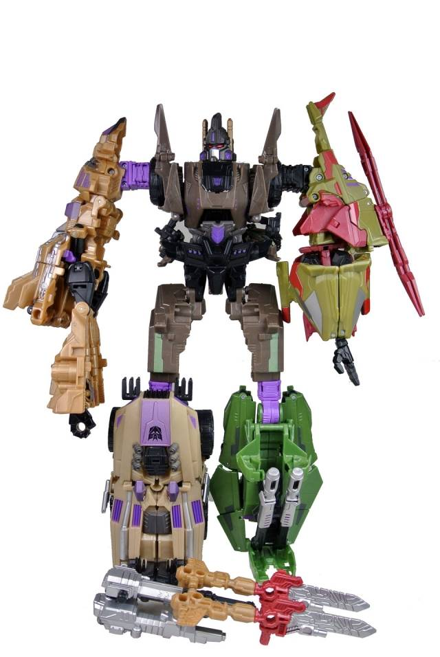 Transformers 2012 - SDCC Bruticus - Loose - 100% Complete