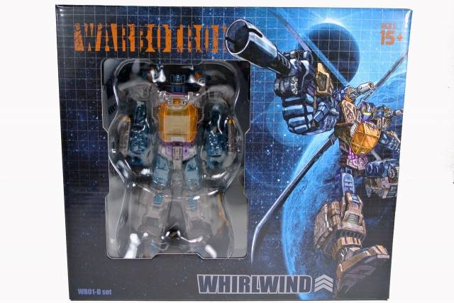 Warbotron - WB01-D - Whirlwind - MIB