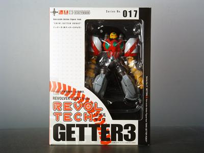 Revoltech 017 - Shin Getter 3 - MISB