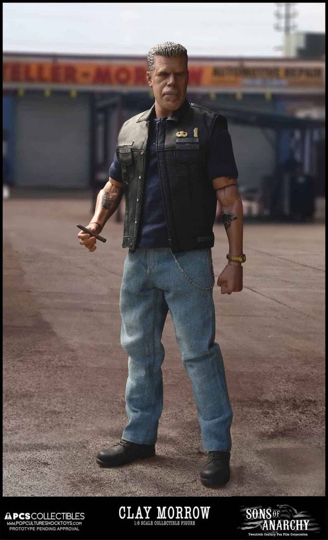 Pop Culture Shock - Sons of Anarchy - 1/6 Clay Morrow